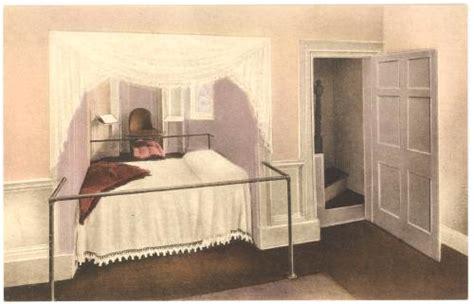 al jefferson bed virginia charlottesville monticello thomas jefferson