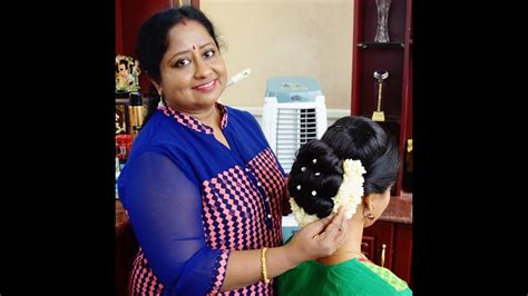 hairstyles for party in kerala traditional kerala hairstyle full tutorial youtube