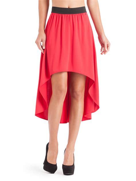guess marilyn high low skirt ebay