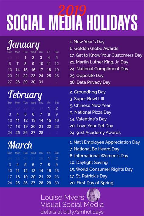 social media holidays     indispensable