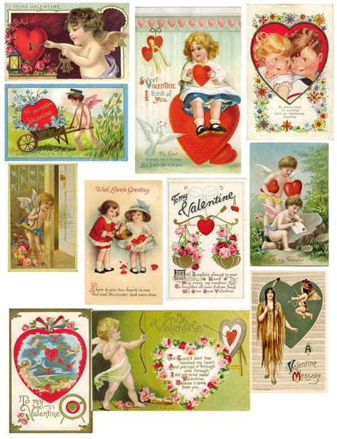 free printable vintage cards free vintage collage sheets vintage collage sheets