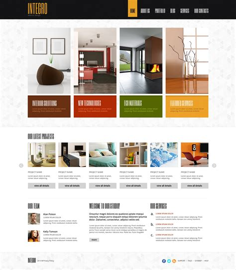 interior design for profit joomla template 47157