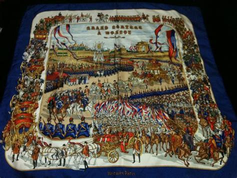 hermes silk scarf quot moscou imperial russia history