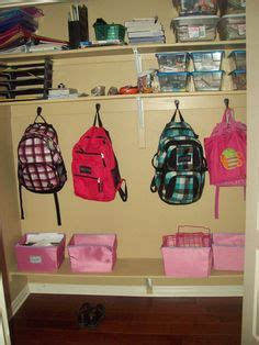 School Closet by Back To School Closet Ideas On Mud Rooms