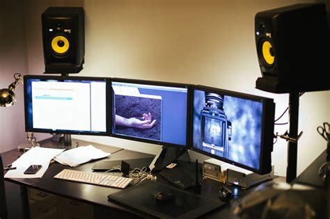 best workstation for editing how i built a custom desk and wire free workspace for my