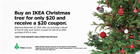 Where Can I Buy Ikea Gift Cards Canada - ikea canada christmas deals receive a free 20 coupon when you buy any 20 christmas