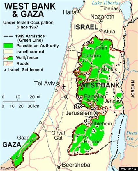 israel map today israel map the palestinian region s changing borders