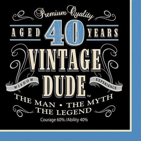 vintage s 40th birthday supplies paper shop