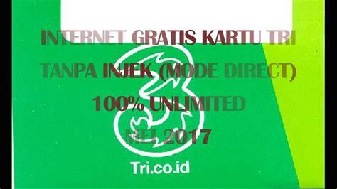 Tutorial Internet Gratis Kartu 3 | tutorial internet gratis kartu tri 3 tanpa injek direct