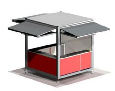Outdoor Shelter Plans Esteva Cube Kiosk By Moodie Outdoor Products