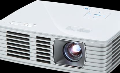 Mini Projector Acer K135 review acer k135 projector bright but still portable indian express