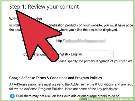 adsense tumblr how to use adsense on a tumblr blog 6 steps with pictures