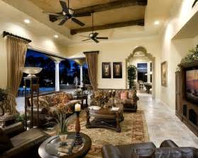 Bradington Young Sofa by Private Residence A Windermere Florida Mediterranean