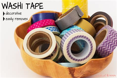 uses of washi tape washi tape calendar modish main