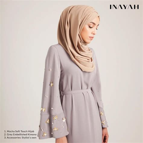 Shf Inayah 2 Dress inayah islamic clothing fashion abayas jilbabs hijabs jalabiyas pins elagant