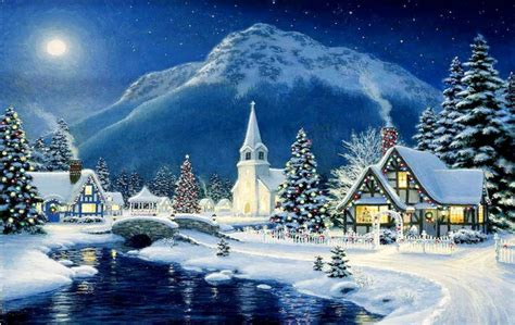 images of christmas scenery photo collection winter scene christmas