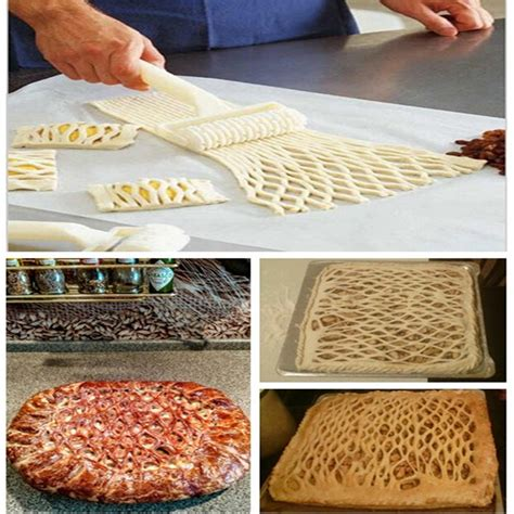 Pisau Pizza pisau cutter roller lattice pastry pizza white