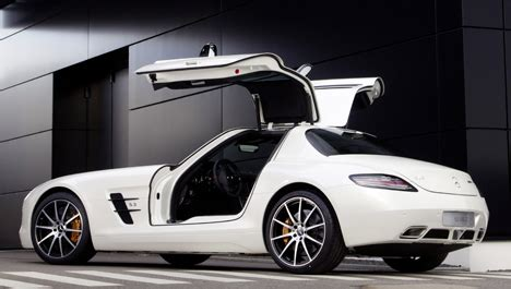 mercedes sls amg gt : le luxe en version ultrarapide