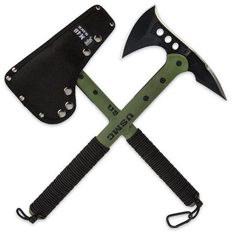 tomahawk self defense usmc advanced combat tactical tomahawk true swords