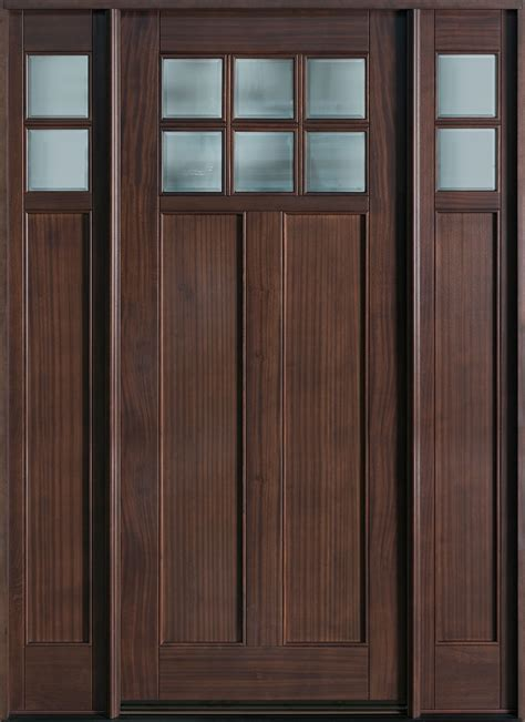 Solid Wood Exterior Entry Doors Minimalist Doors Frosted Glass Interior Doors Minimalist