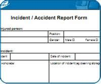 incident report template worksafe incident reporting form guardian home care