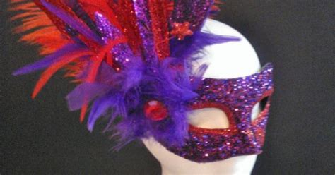 masquerade mask and purple colors venetian by jewelz4craft masquerade themed wedding