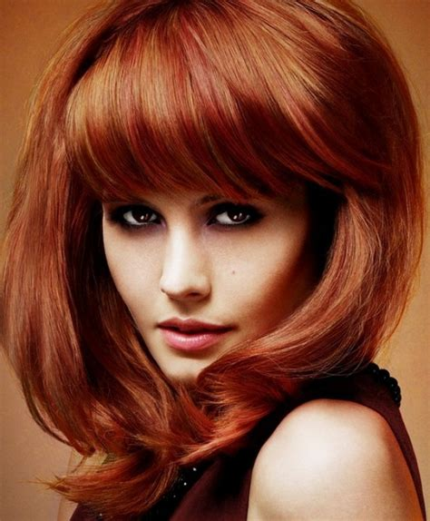 medium length hairstyles with bangs and fat faces pictures of medium length hairstyles for thick hair with bangs