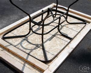 Patio Tile Table Upcycled Door Into Outdoor Serving Table With Sink Remodelaholic Bloglovin