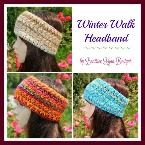 pering gift set red heart yarns free patterns pinterest winter walk headband free crochet pattern