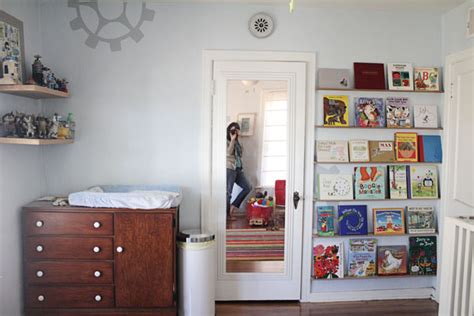 diy forward facing bookshelves for the children s room