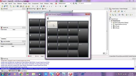 tutorial delphi xe delphi xe ttouchkeyboard component very useful user