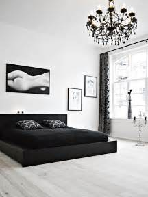 Black And White Bedroom Ideas by Black And White Bedroom Interior Design Ideas