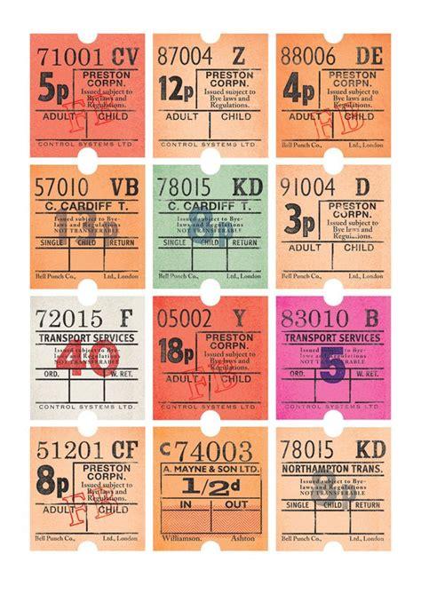 printable bus tickets best 25 bus tickets ideas on pinterest bus pass