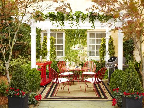 patio decor ideas martha stewart christmas outdoor decoration ideas