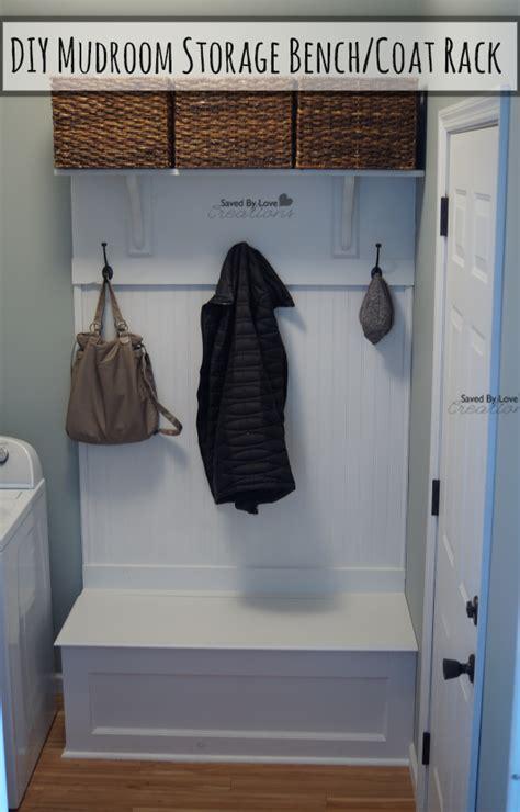 diy mudroom storage bench  woodworking plans