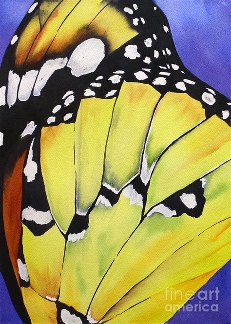 butterfly wing painting by glenyse henschel