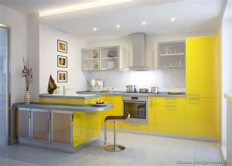 yellow kitchen designs pictures of modern yellow kitchens gallery design ideas