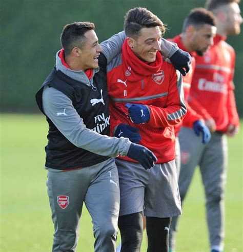 alexis sanchez and mesut ozil arsene wenger is talking like alexis sanchez will be