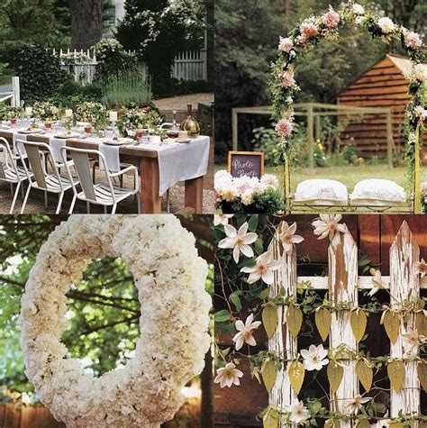Rustic Garden Wedding Ideas A Rustic Outdoor Wedding Wedding Ideas