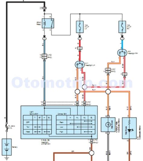 toyota alternator wiring diagram get free image about