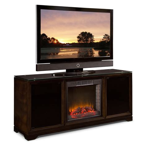 Fireplace Stand by Entertainment Stand With Fireplace Neiltortorella