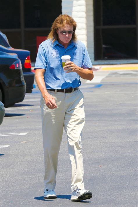bruce jenners new hair style bruce jenner debuts new hair style