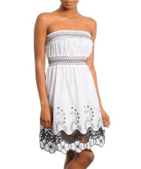 Bj Print White Glossy Dress pics for gt country sundresses