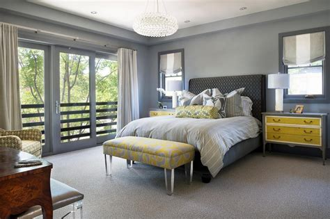 Grey Yellow Bedroom by How To Create Grey And Yellow Bedroom Easily Gallery