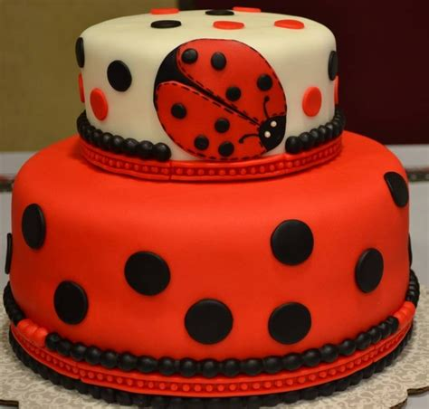 Bug Baby Shower Cakes by Ladybug Baby Shower Cake Cakecentral