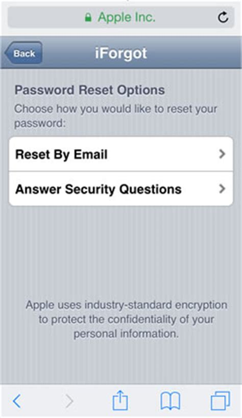 apple reset password 3 ways to reset a lost apple id password and regain access