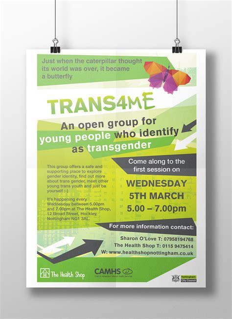 poster design nottingham nottingham city council trans4me project on behance