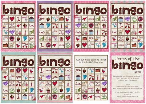 printable free valentine bingo valentine s day bingo game simply fresh designs
