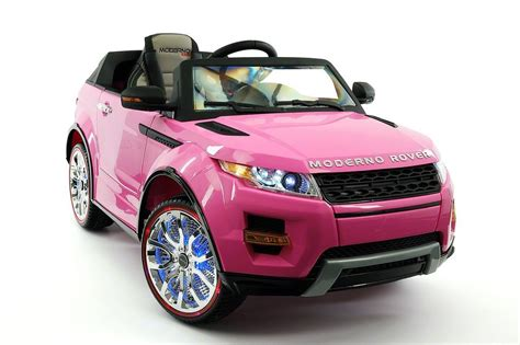 pink range rover power wheel 2017 12v range rover evogue style battery powered ride on