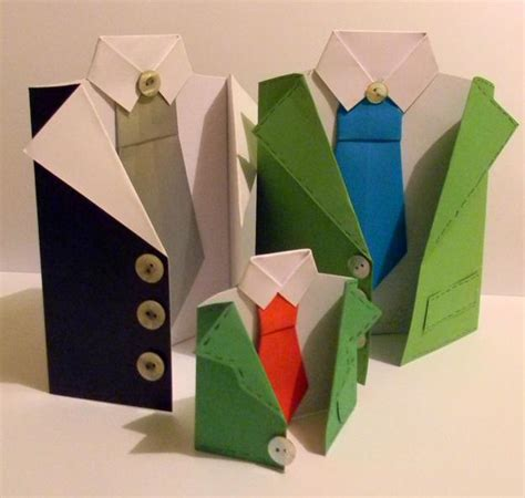 Craft Paper Card - easy paper craft ideas creating beautiful fathers day